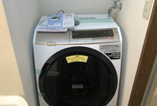 ドラム式洗濯機の壁ピタ水栓取付 松戸市